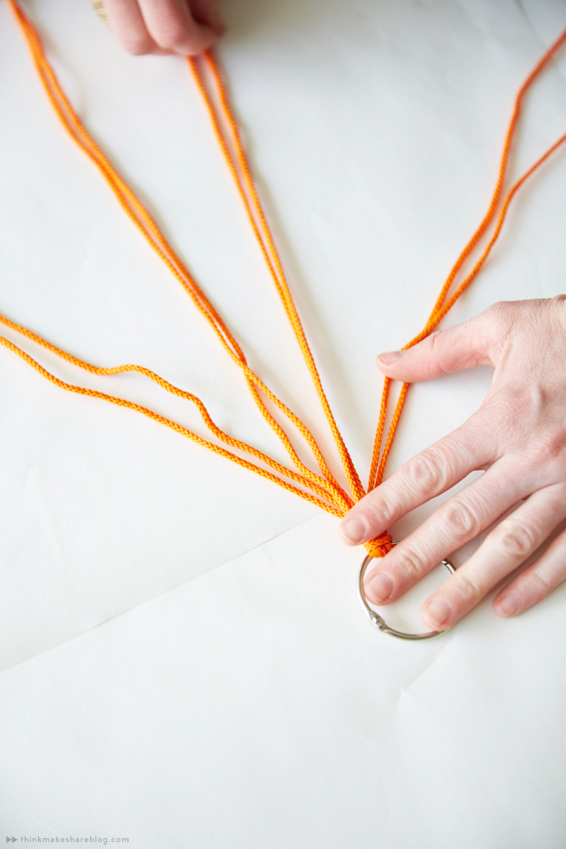 How To Diy Mini Macrame Plant Hangers Think Make Share