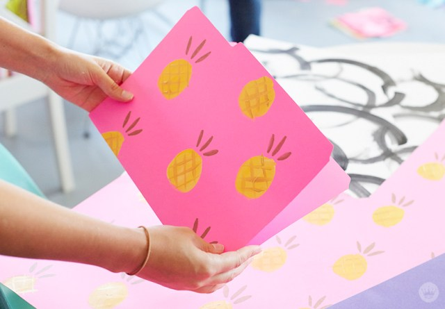 Decorative File Folders | thinkmakeshareblog.com
