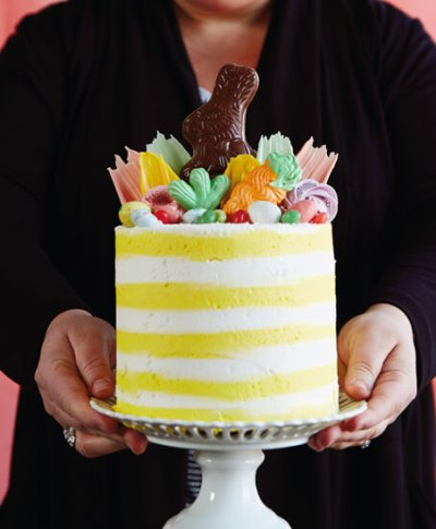 Easter Cake Workshop | thinkmakeshareblog.com