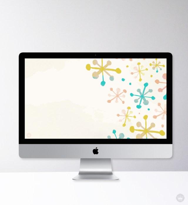 Multicolored jax desktop wallpaper designed by one of our Hallmark summer interns, Elisa Martin.
