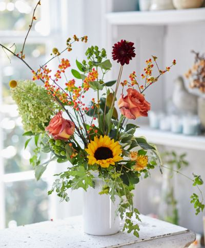Fall Florals | thinkmakeshareblog.com