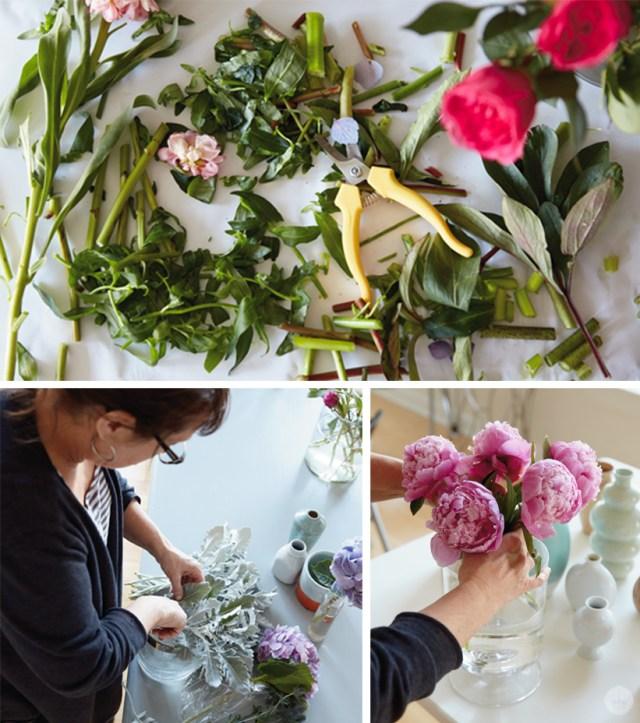 Fresh flowers workshop | thinkmakeshareblog.com