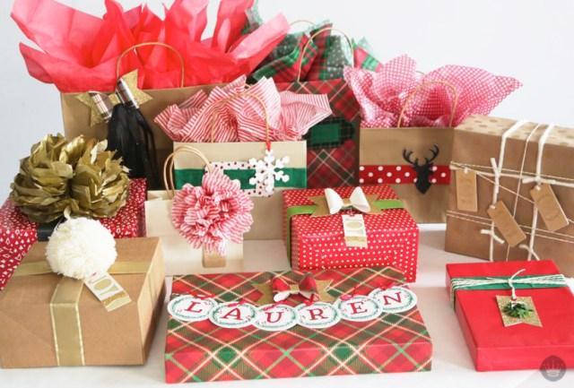 Hallmark DIY Maker Collection | Holiday Gift Wrap | thinkmakeshareblog.com