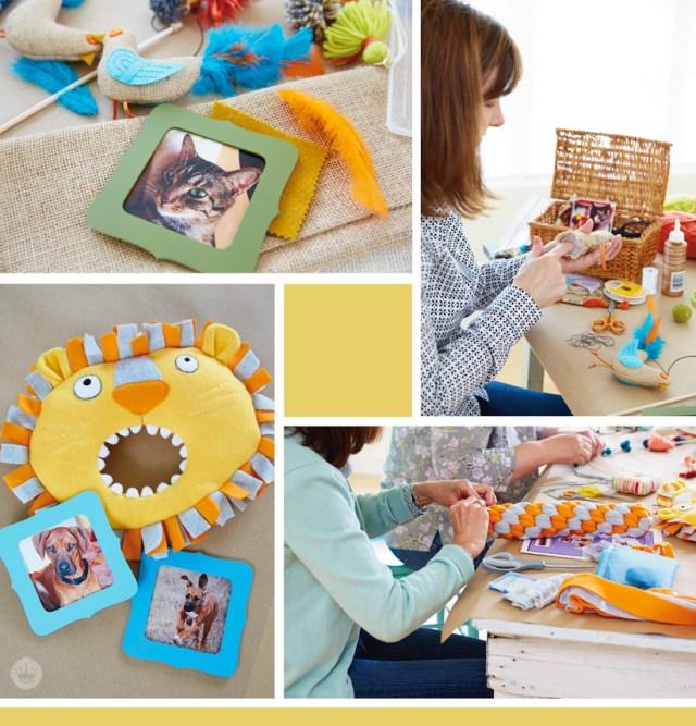 Hallmark artists share their handmade pet toys   thinkmakeshareblog.com