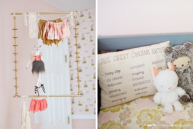 Hallmark designer Tuesday Spray shares her daughter's nursery | thinkmakeshareblog.com