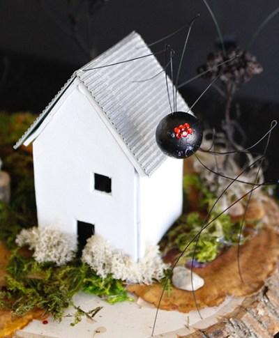 Haunted Clay Houses | thinkmakeshareblog.com
