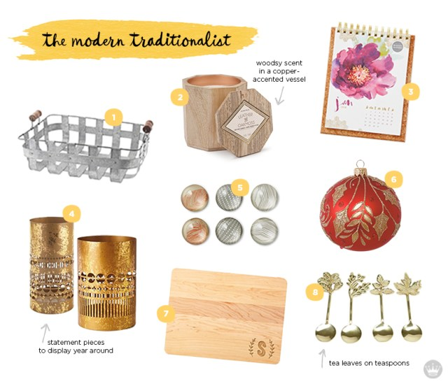 holiday hostess gift guide for the modern traditionalist