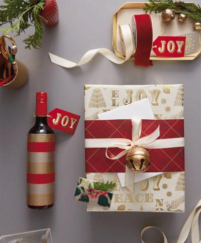Hostess Gift Wrap | thinkmakeshareblog.com