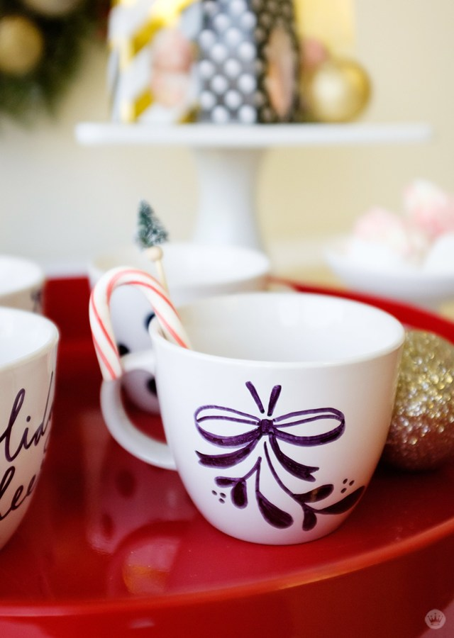 Hot Chocolate Bar with #SignatureStyle | thinkmakeshareblog.com