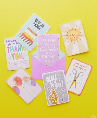 Just Because Cards | thinkmakeshareblog.com