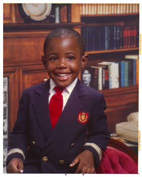 Hallmark writer Keion Jackson shares a tribute to his grandma for Black History Month