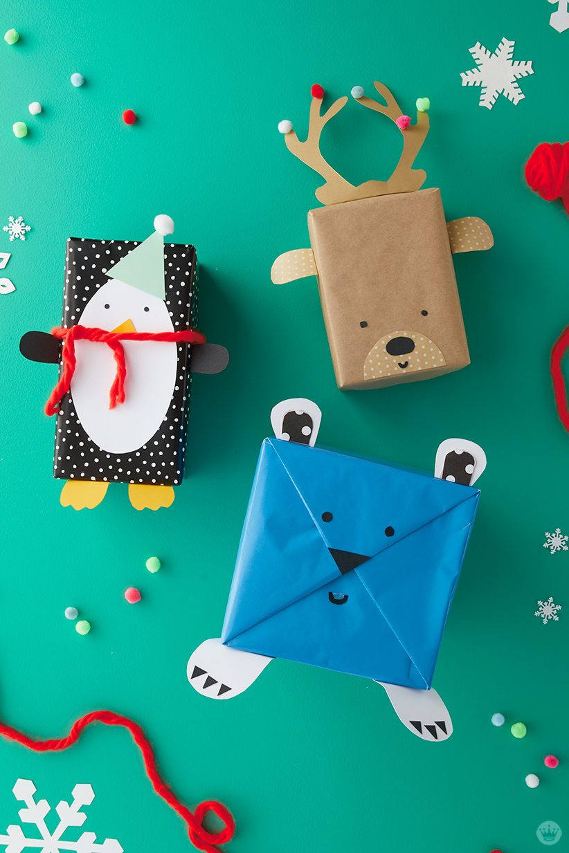 Kids Holiday Giftwrap   thinkmakeshareblog 4