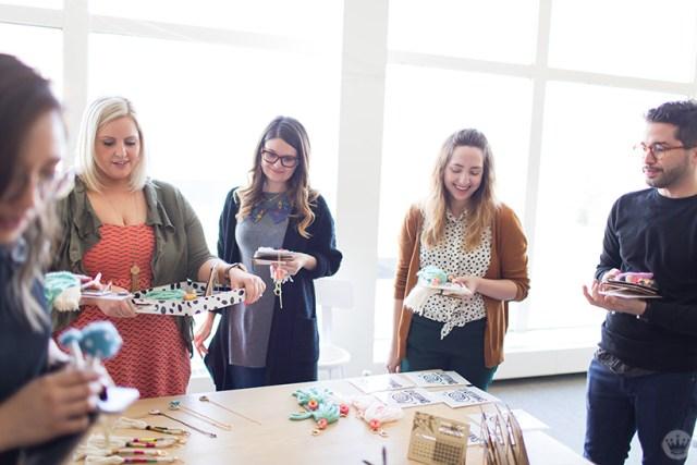 Handmade gift exchange