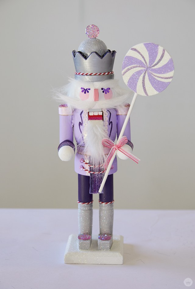 Finished nutcracker—inspired by Sugar Plum Fairies