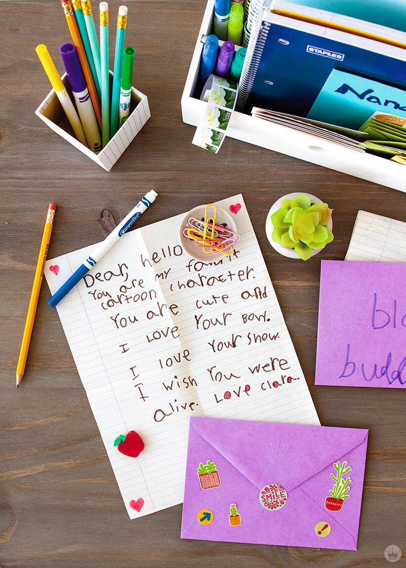 you've got hugs teaching kids to write letters  think