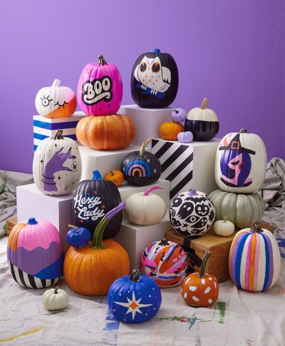 Pumpkin Decorating 2019 | thinkmakeshareblog.com