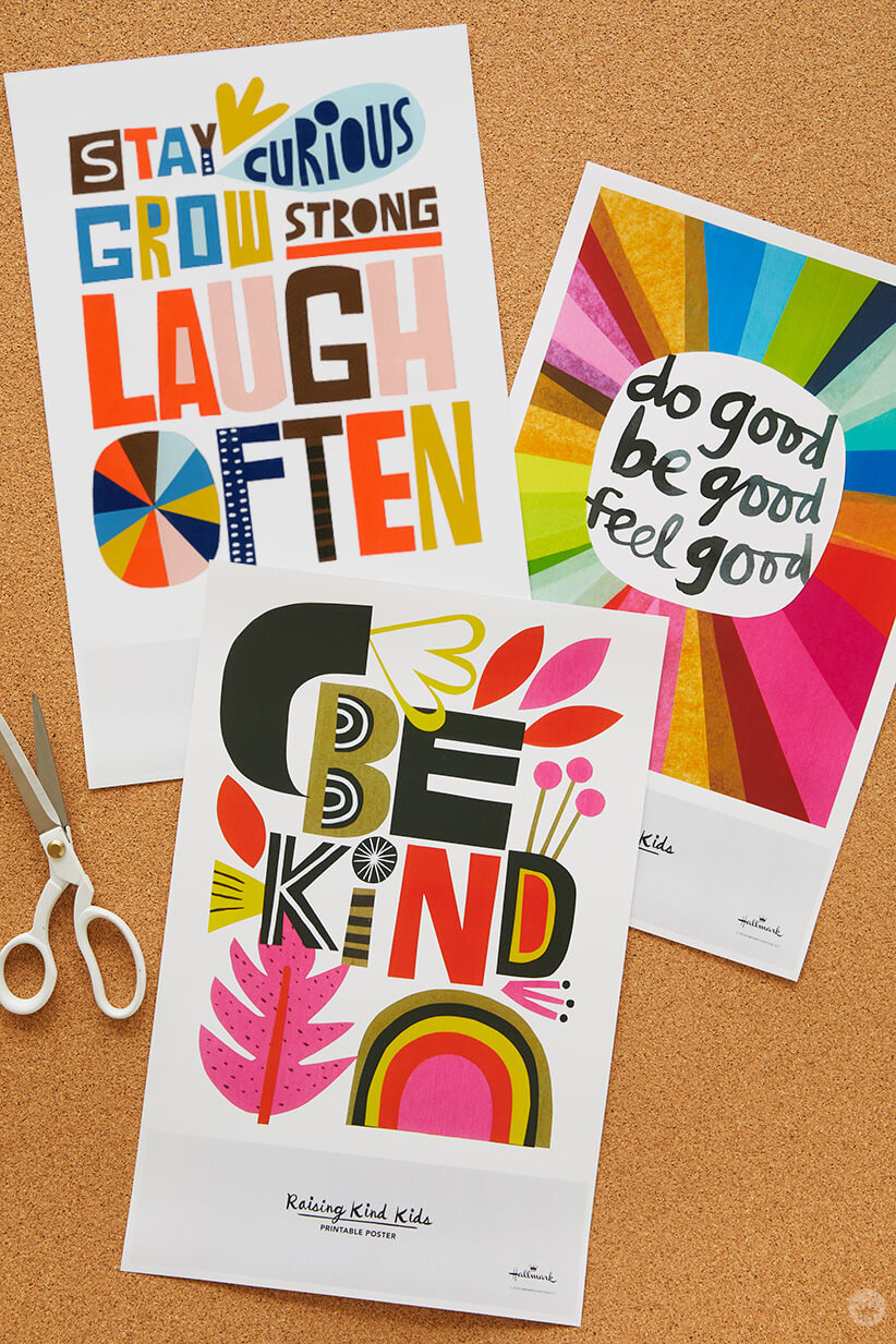 Download Free Printable Classroom Posters And Hang Up Inspiring Words Think Make Share