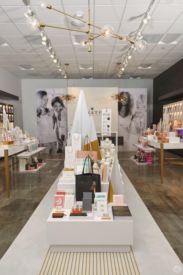 Store display at the new Hallmark Signature Store in Santa Monica, CA