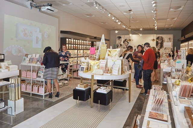 Opening celebration at the new Hallmark Signature Store in Santa Monica, CA