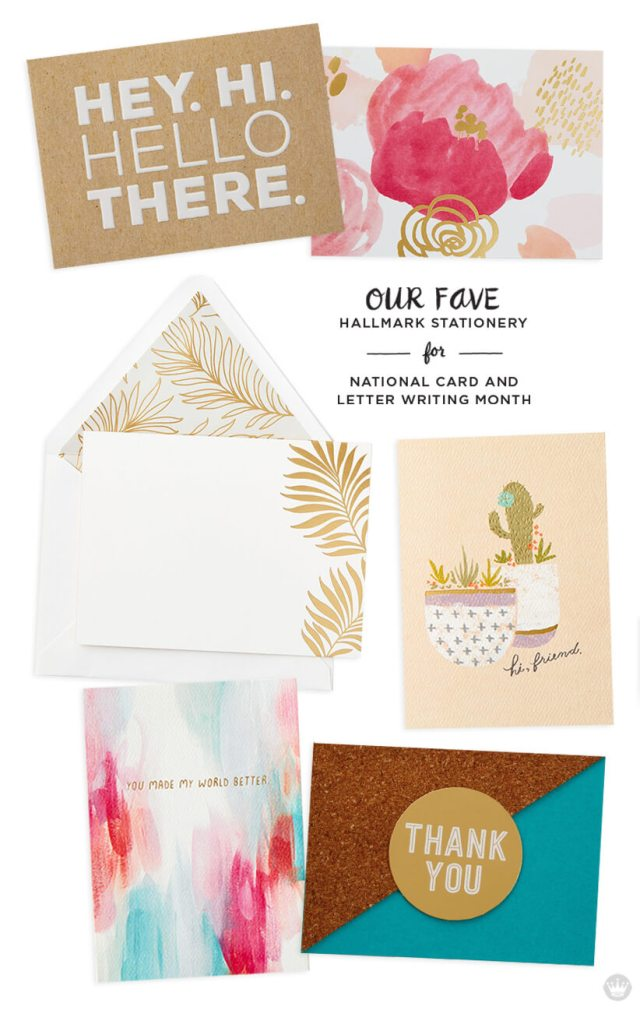 Favorite stationery: six designs from Hallmark.com