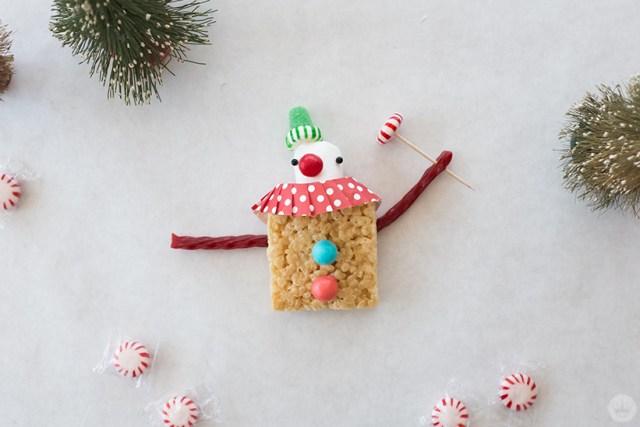 Sweet treat Christmas clown