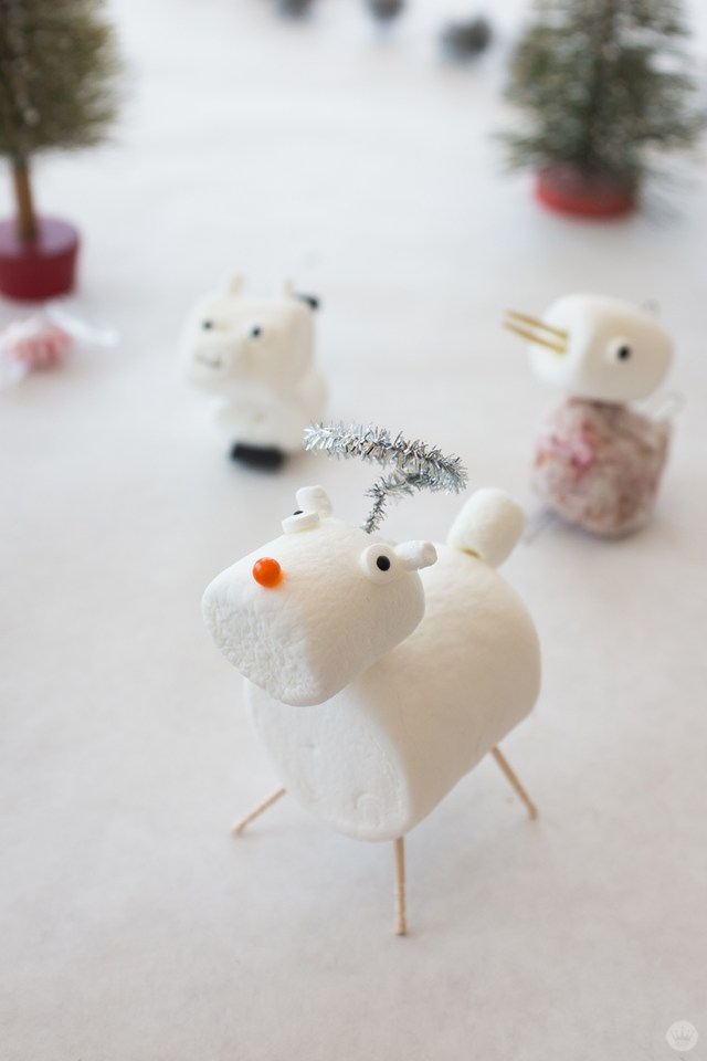 Angel marshmallow critters