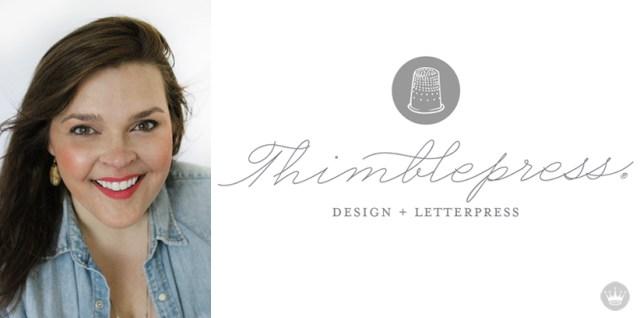 Thimblepress shows us their Signature Style | thinkmakeshareblog.com