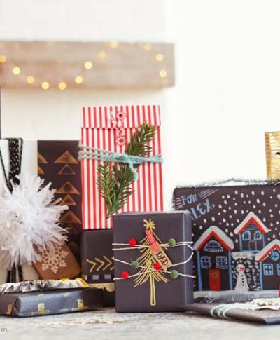 6 Tips for Creative Gift Wrapping   thinkmakeshareblog.com