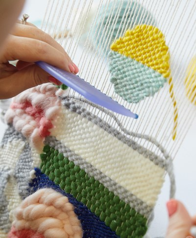 Weaving Workshop | thinkmakeshareblog.com
