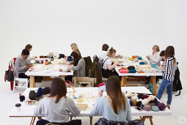Woven wall hangings: A Hallmark creative workshop