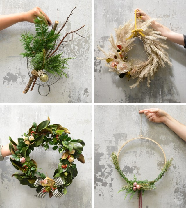 Wreath Ideas   thinkmakeshareblog.com