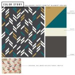 On-trend Color for a Modern Blanket   thinkmakeshareblog.com