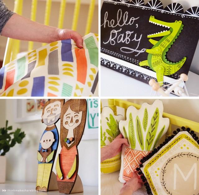 Hallmark designer Cece Merkle shares her nursery   thinkmakeshareblog