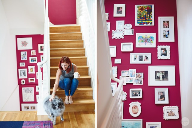 tips and tricks for decorating a small space | gallery wall | thinkmakeshareblog.com