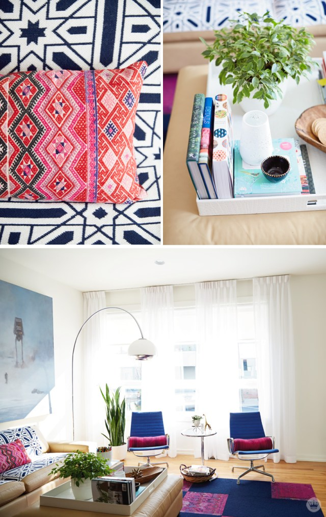 tips for decorating and organizing a small space | thinkmakeshareblog.com