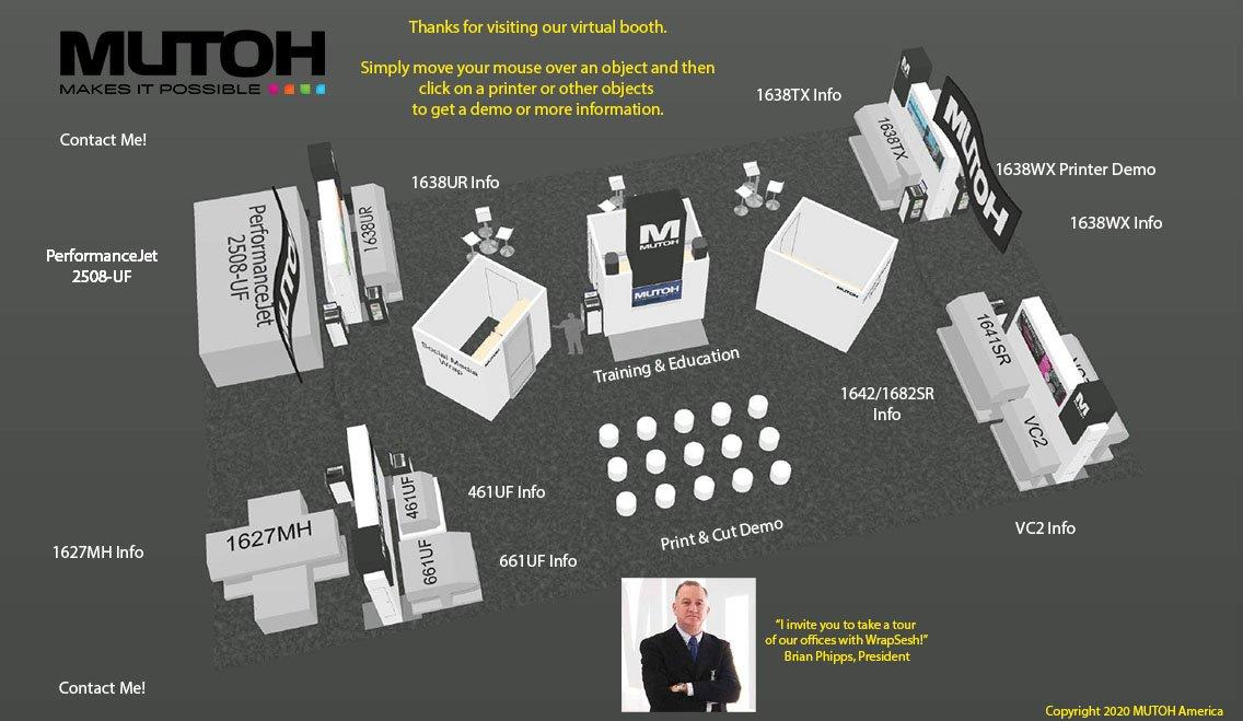 MUTOH Virtual Booth