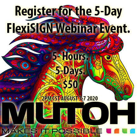 5-Day FlexiSIGN Marathon Webinars 1