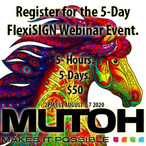 DID YOU MISS OUR AWESOME MUTOH 5-DAY FLEXISIGN WEBINAR SERIES? 4