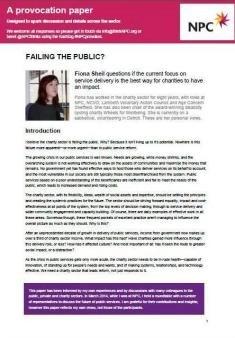 Failing the public?