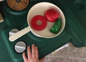 Why I'm Ok With My Daughter's Play Kitchen