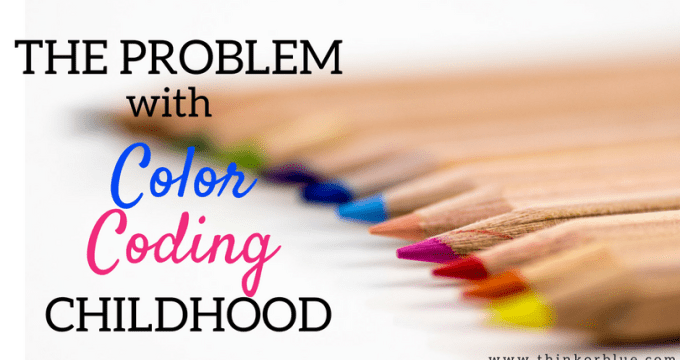 The Problem with Color-Coding Childhood