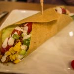 NULIFE Living Food Cafe | Coconut Taco Wrap