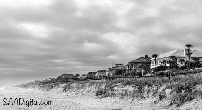 The Ponte Vedra Beach coast near Jacksonville, FL