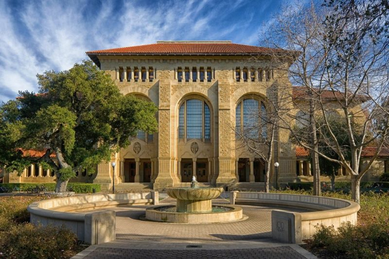 Building on Stanford University in Palo Alto, CA