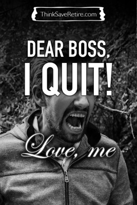Dear Boss, I quit, Love me