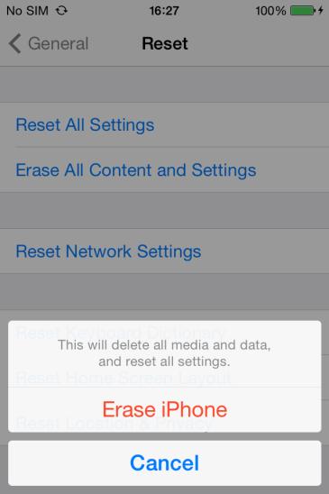 как изменить обои в iPhone8