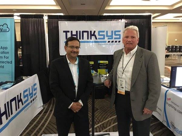 rajiv jain representing thinkSys at stareast
