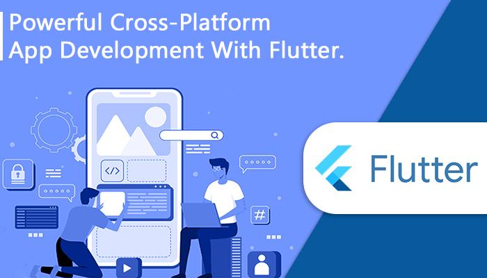 Crossplatform mobile app development with Flutter