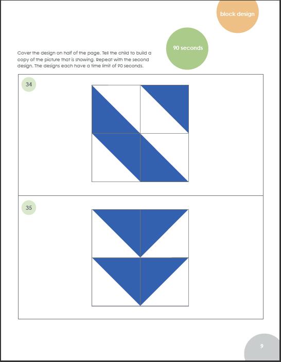 Visual Spatial Index Wisc V