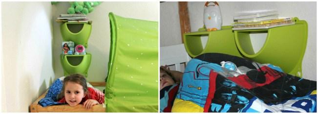 kid bed storage